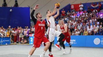 Российские баскетболисты выиграли золото на II Европейских играх
