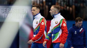 Гончаров и Рябцев заняли 8-е место в синхронных прыжках на батуте на II Европейских играх