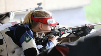 Соревнования по пулевой стрельбе проходят на II Европейских играх