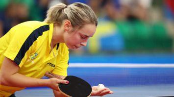 Соревнования по настольному теннису продолжаются на II Европейских играх