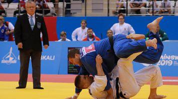 Белорусская команда заняла пятое место на турнире по дзюдо II Европейских игр
