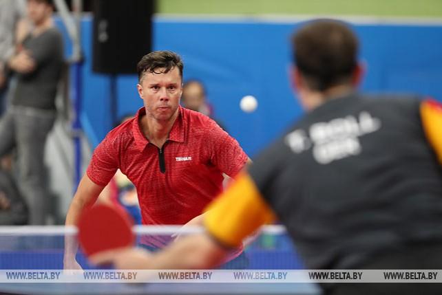 Самсонов проиграл Боллю в 1/4 финала турнира по настольному теннису II Европейских игр