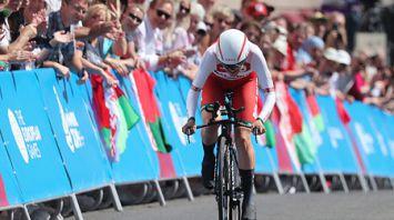 Алена Омелюсик заняла 5-е место в индивидуальной шоссейной велогонке II Европейских игр