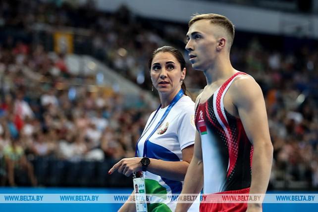 Владислав Гончаров завоевал золото в прыжках на батуте на II Европейских играх
