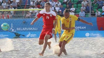 Сборная Беларуси по пляжному футболу победила на старте II Европейских игр