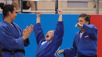 Российские дзюдоисты выиграли командный турнир на II Европейских играх