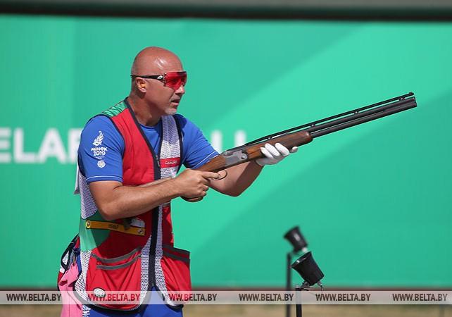 Квалификационный этап соревнований по стендовой стрельбе проходит на II Европейских играх