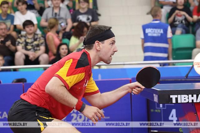 Полуфиналы по настольному теннису проходят на II Европейских играх