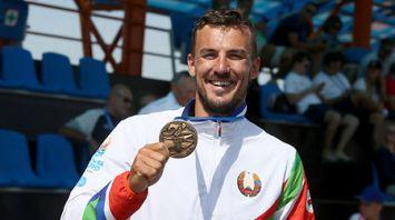Байдарочник Олег Юреня занял третье место на II Европейских играх