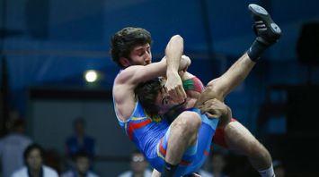 Стадия 1/8 финала по вольной борьбе прошла на II Европейских играх