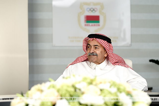 Первый вице-президент Катарского олимпийского комитета посетил НОК Беларуси