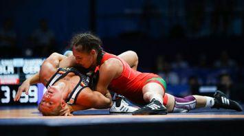 Во Дворце спорта завершилась четвертьфинальная стадия по борьбе на II Европейских играх