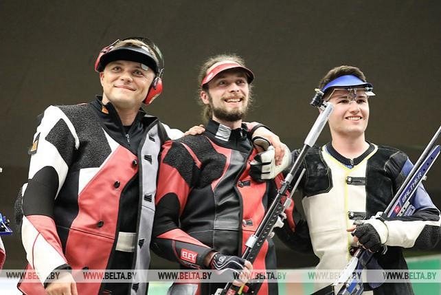 Юрий Щербацевич завоевал серебро соревнований по пулевой стрельбе на Европейских играх