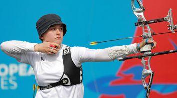Лучники разыграли два комплекта наград на II Европейских играх