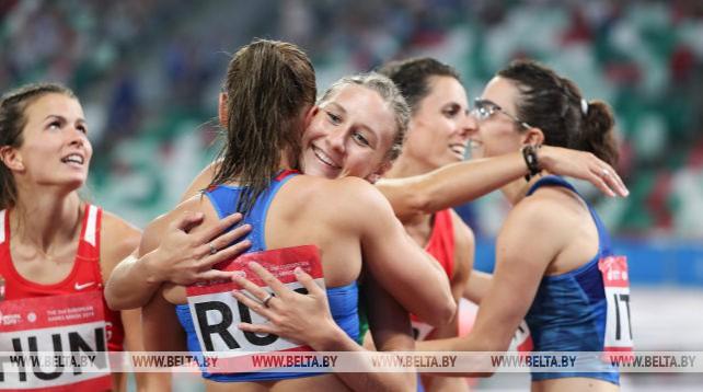 Белорусские легкоатлеты вышли в финал командного турнира на II Европейских играх