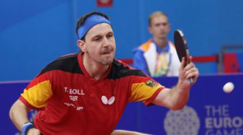 Немец Тимо Болль выиграл личный турнир II Европейских игр по настольному теннису