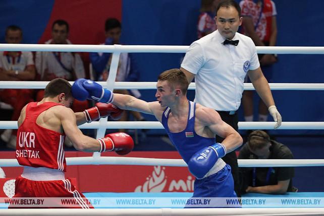 Четвертьфинальные боксерские бои завершились на II Европейских играх