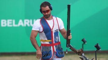 Квалификационные соревнования по стрельбе из малокалиберной винтовки и стендовой стрельбе проходят на II Европейских играх