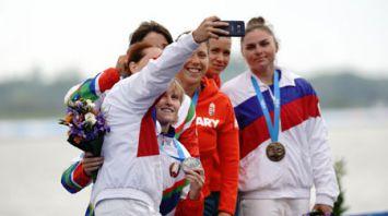 Макарченко и Климова стали серебряными призерами II Европейских игр в гребле на каноэ
