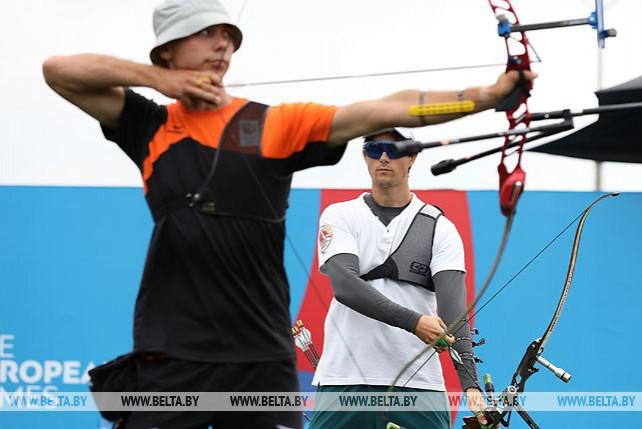 Соревнования по стрельбе из лука продолжаются на II Европейских играх