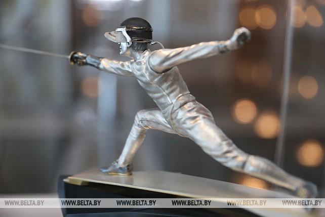 """Выставка """"Спорт ХХІ века в скульптуре"""" открылась во Дворце Независимости"""