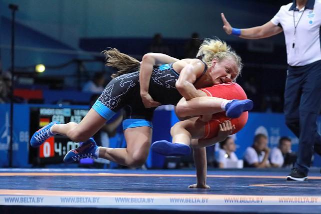 Турнир по вольной борьбе проходит на II Европейских играх