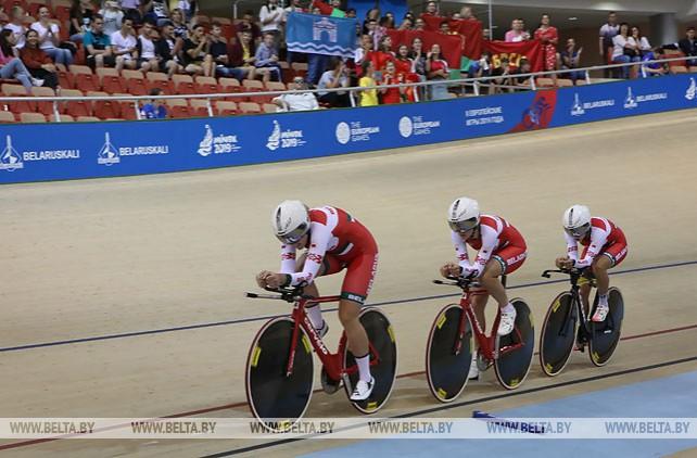 Белорусские велосипедисты заняли третье место в квалификационной гонке преследования