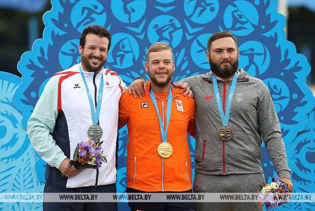 Голландец Майк Шлессер выиграл соревнования в блочном луке на II Европейских играх