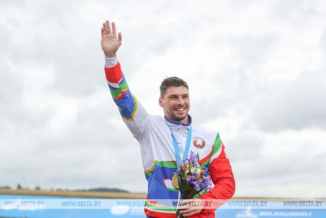 Белорусский спортсмен Артем Козырь занял первое место в гребле на каноэ