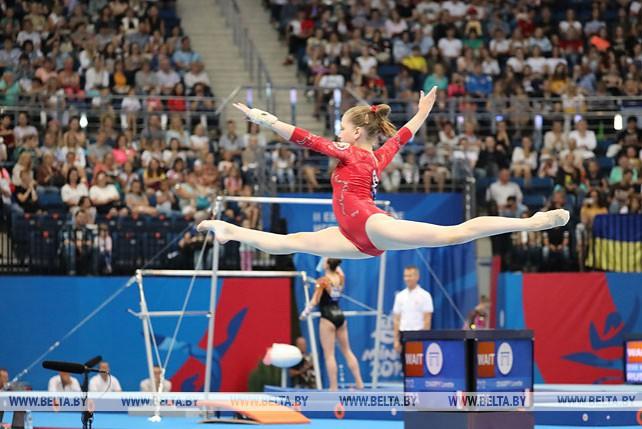 Квалификации по многоборью в спортивной гимнастике прошли на II Европейских играх