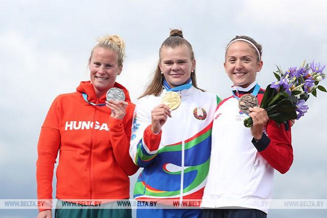 Марина Литвинчук завоевала второе золото в гребле на байдарке II Европейских игр