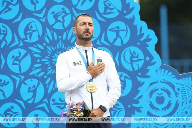 Итальянский стрелок Мауро Несполи стал чемпионом II Европейских игр в классическом луке