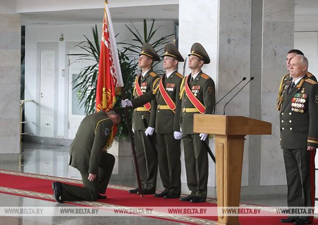 Более 120 белорусских офицеров получили дипломы об окончании факультета Генштаба