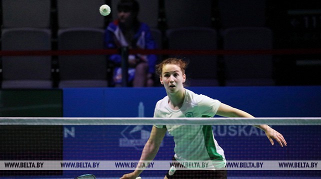 Четвертьфиналы по бадминтону проходят на II Европейских играх