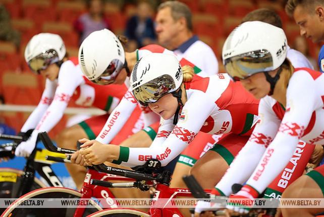 Велосипедисты продолжают соревноваться на треке II Европейских игр