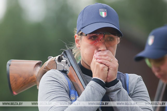 Комплект наград в стендовой стрельбе разыграли на II Европейских играх