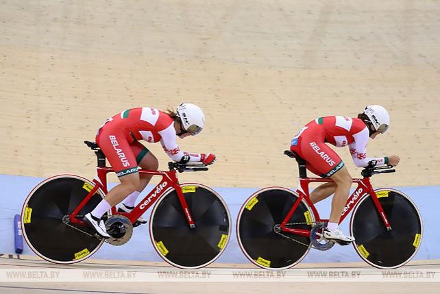 Белорусские велосипедистки стали четвертыми в командном преследовании на II Европейских играх