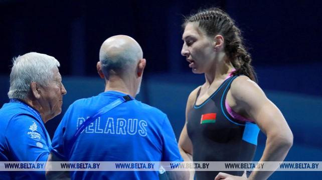 Белоруска Василиса Марзалюк завоевала золотую медаль турнира по борьбе II Европейских игр