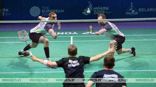 Команда Дании по бадминтону одержала победу над представителями России