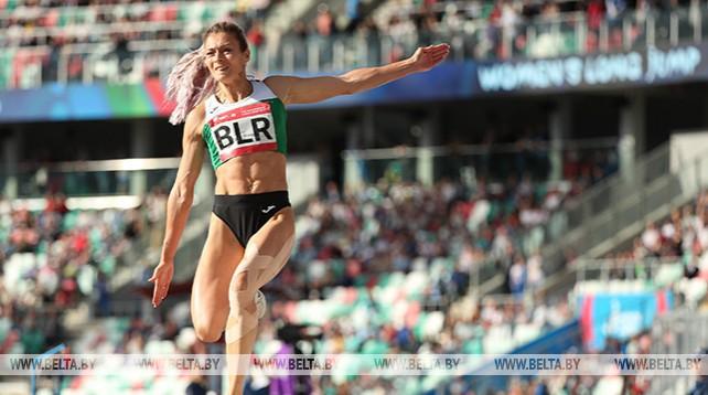 Белорусские легкоатлеты заняли второе место в командном турнире II Европейских игр