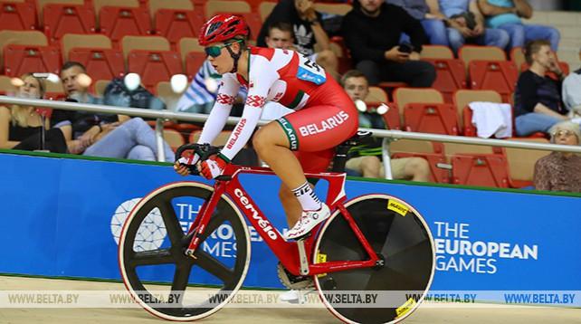 Велосипедистка Анна Терех взяла бронзу на II Европейских играх
