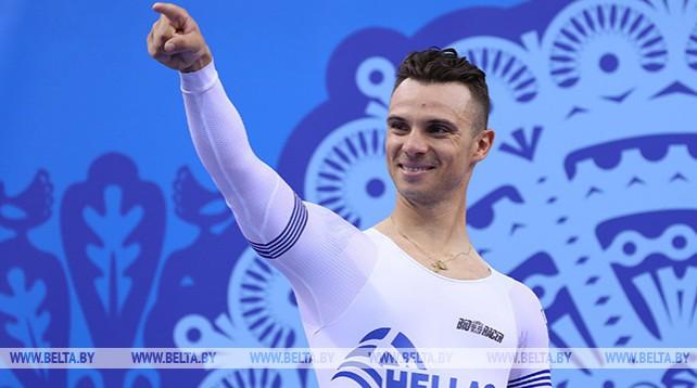 Велосипедист Христос Воликакис выиграл в гонке на треке по очкам на II Европейских играх
