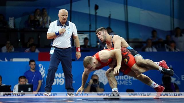 Турниры по греко-римской борьбе проходят на II Европейских играх