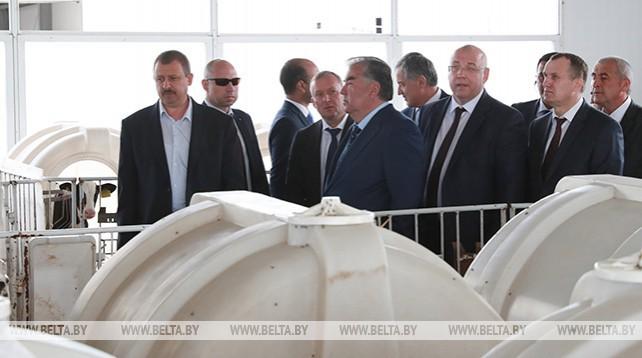 Таджикистан заинтересован в использовании белорусского опыта молочного производства