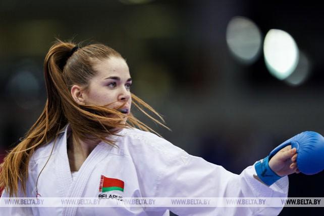 12 комплектов наград разыгрывают представители каратэ на II Европейских играх