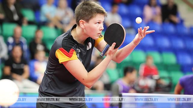 Германия завоевала золото в турнире II Европейских игр по настольному теннису