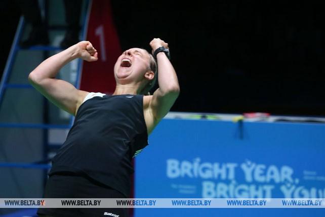 Чемпионами турнира по бадминтону в женских парных разрядах стали Шерил Сейнен и Селена Пик (Нидерланды)