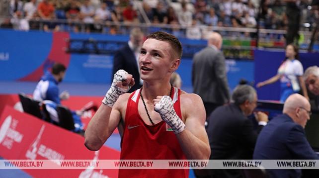 Белорусский боксер Дмитрий Асанов стал чемпионом II Европейских игр