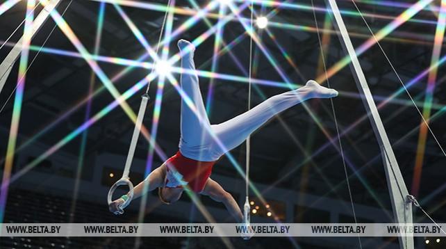 Первые комплекты наград разыграли гимнасты на II Европейских играх