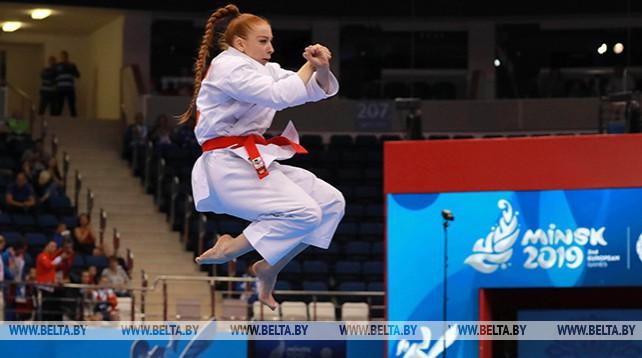 Белоруска Мария Фурсова стала пятой на турнире по каратэ II Европейских игр